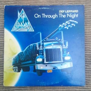 Dec Leppard On Through The Night Vinyl